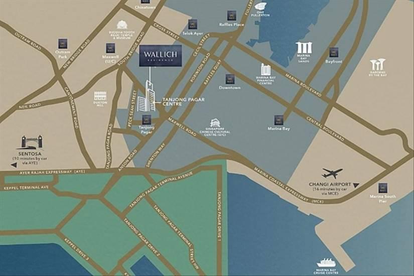LOCATION MAP OF WALLICH